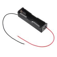 1 fentes 18650 boîte de batterie Rechargeable support de batterie pour 1x18650 Batteries kit de bricolage boîtier en gros