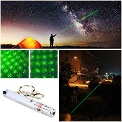2 em 1 ponto ou estrela ponteiro de foco laser verde poderoso visível feixe de luz laser para astronomia astrophile puntero feixe ensino