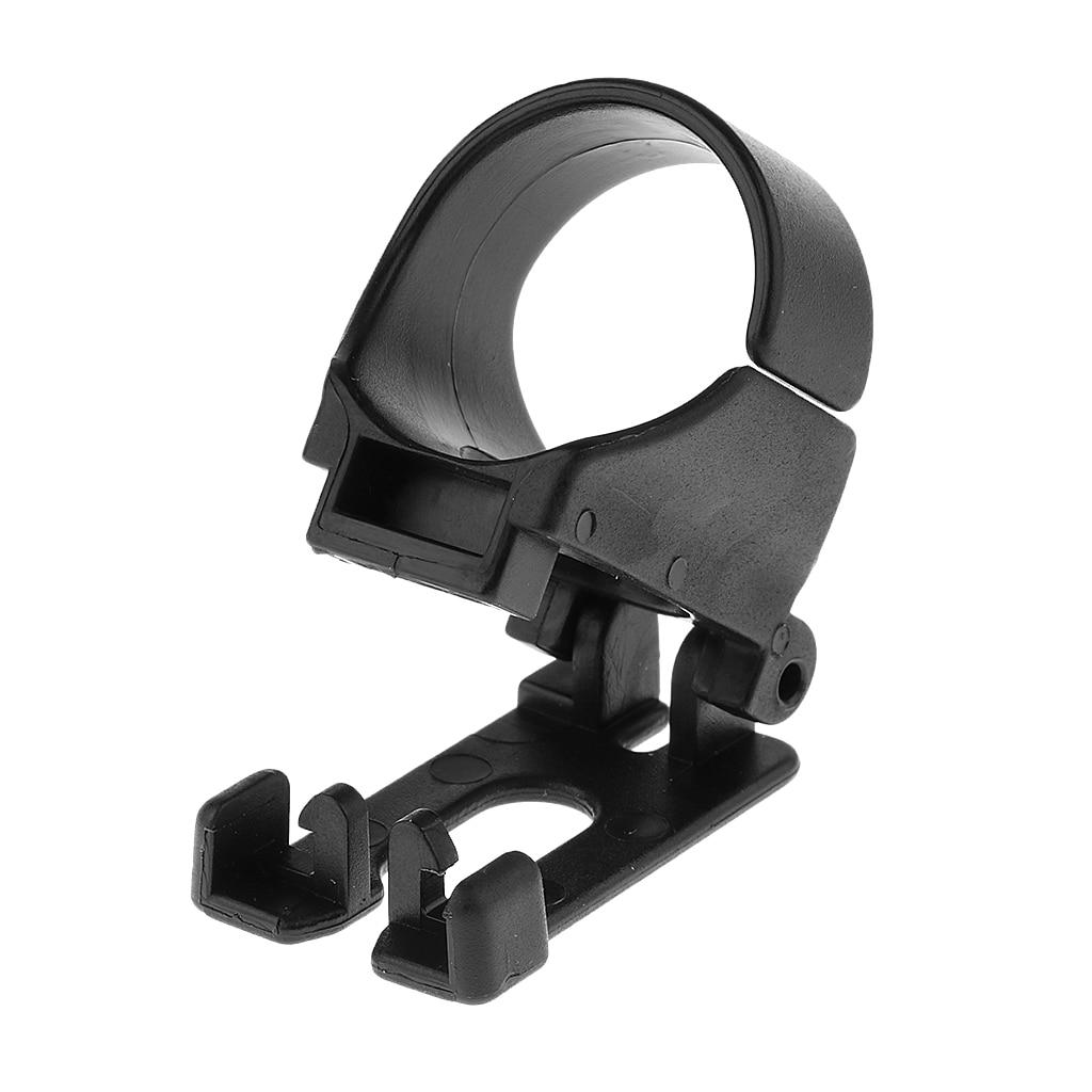 Herramienta de tubo de respiración de buceo Clip de plástico de repuesto de esnórquel de liberación rápida de alta calidad Perfeclan