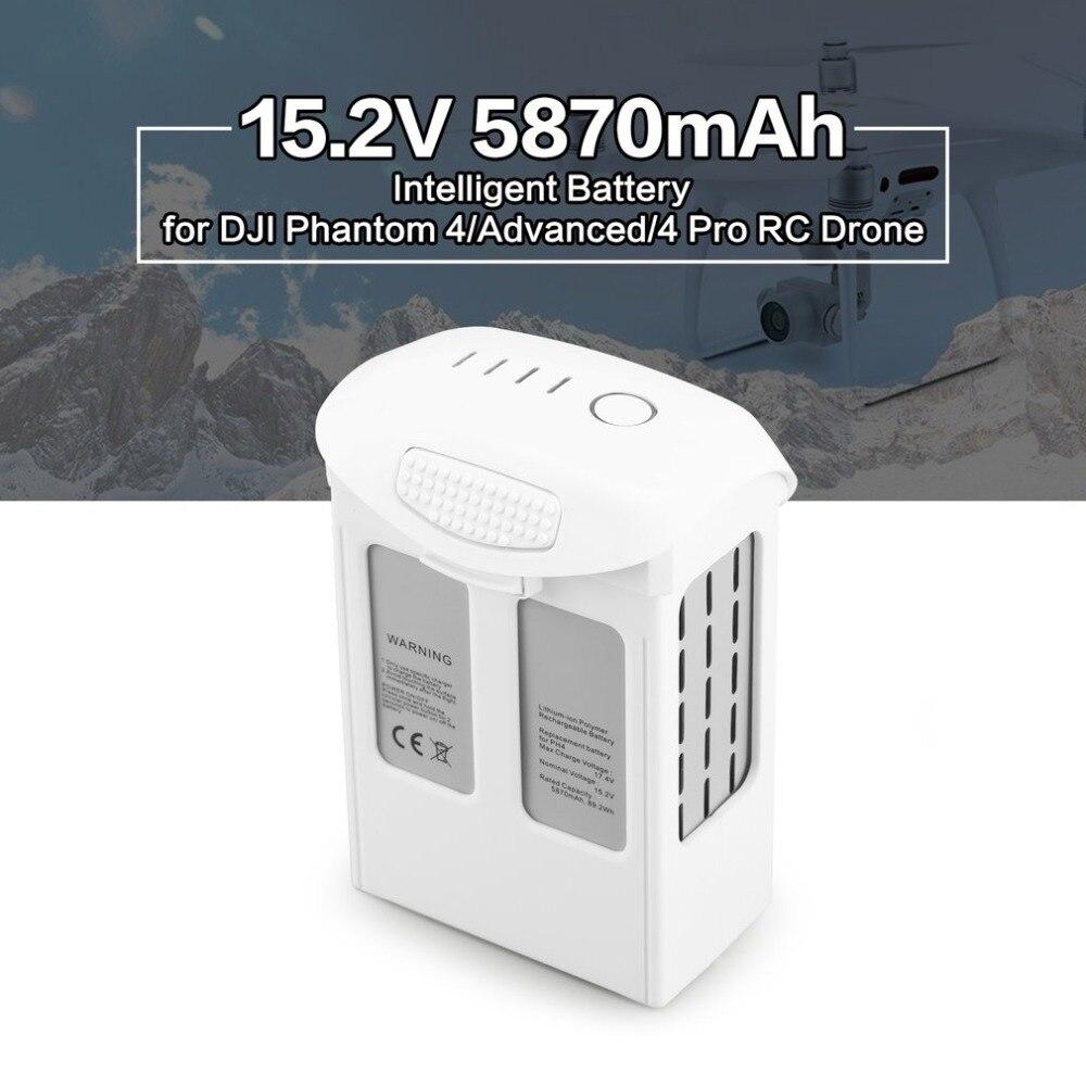 15.2 v 5870 mah LiPo Battery Replacement Part para DJI Fantasma Vôo de Reposição Inteligente 4/Avançado/4Pro FPV quadcopter Zangão RC