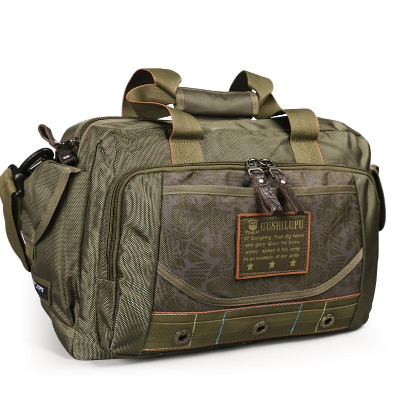 Ruil Men Camouflage Travel Bag Oxford Cloth Bag Portable Waterproof Shoulder Leisure Bags