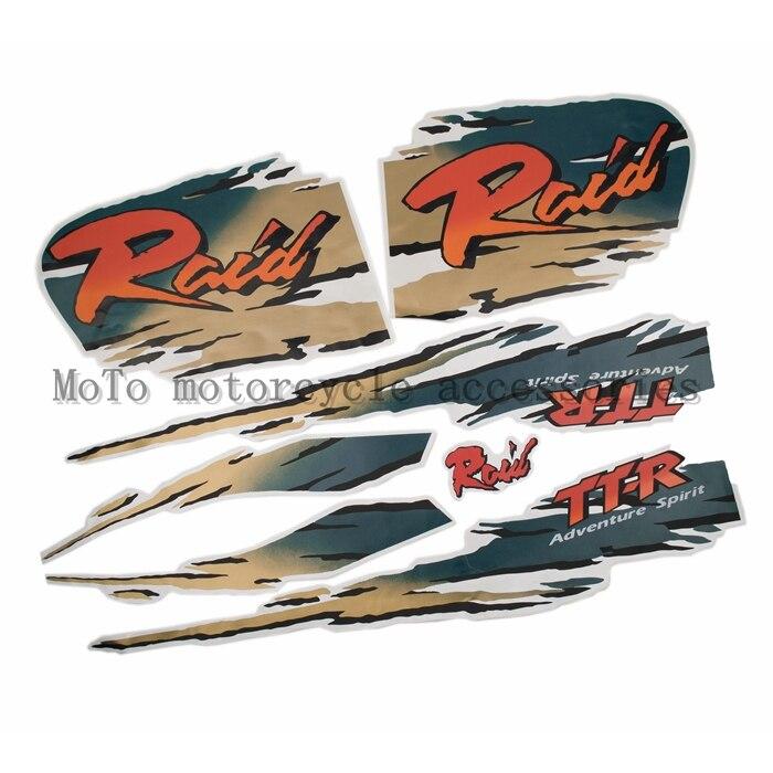 Nuevo Kit gráfico completo de motocicleta pegatina de bicicleta de tierra para TTR250 Raid