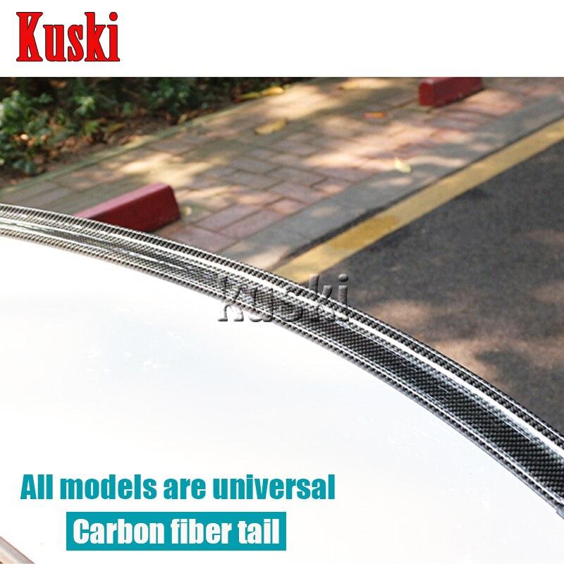 Alerón trasero de fibra de carbono para Porsche 911 Cayenne Macan para Mercedes W211 W203 W204 W210 W205 W212 W220 AMG Accesorios