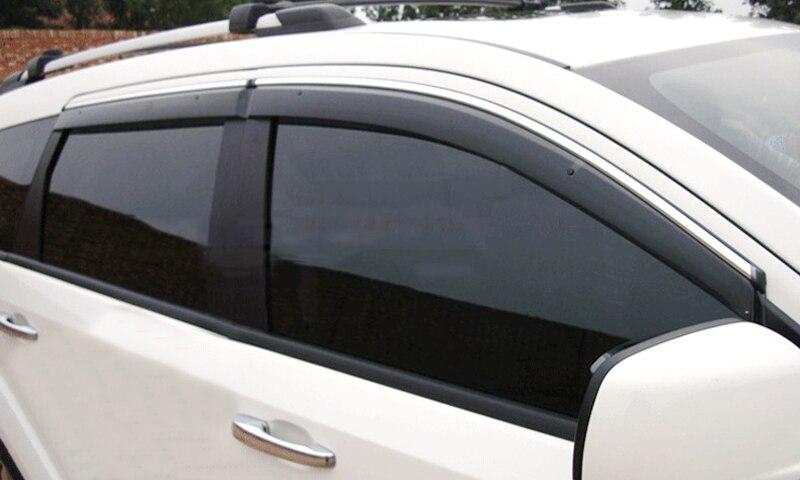 For Dodge Journey JC / Fiat Freemont 2009-2019  Car Accessories Window Visor Wind Deflector Sun Rain Guard