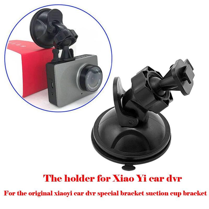 Soporte de ventosa especial para coche dvr xiaoyi original, soporte de cámara de salpicadero con espejo para soporte de coche dvr xiaomi xiaoyi