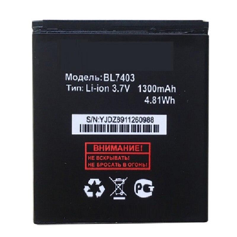BL7403 батарея 3,7 v 1300mAh запасная литий-ионная батарея для Fly iq431 BL7403 Бесплатная доставка