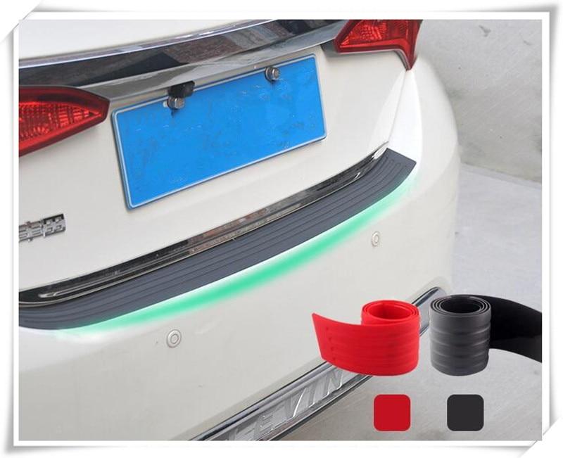Accesorios adhesivos de coche protección de parachoques trasero para SEAT Ibiza Leon Toledo Arosa Alhambra para Fiat Punto evo abarth 500L Cult