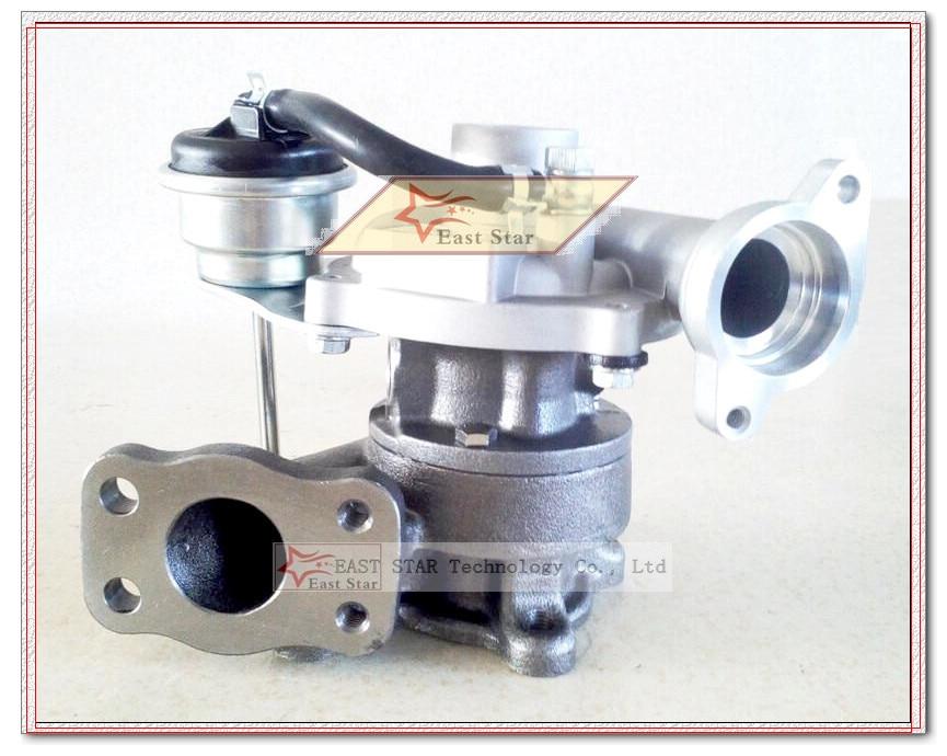 Turbo KP35 54359880009, 54359880007, 54359880001 turbocompresor para FORD FIESTA VI para CITROEN C1 C2 C3 206 307 DV4TD 1.4L TDCI 68HP