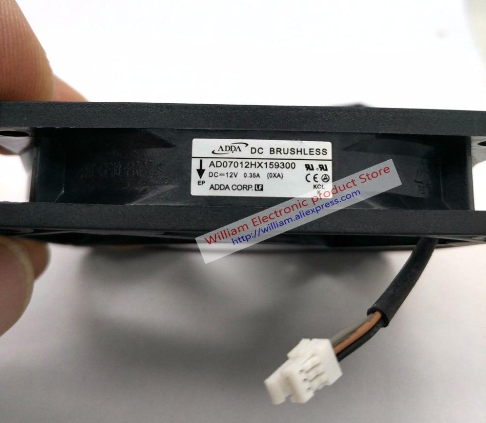 Nouveau Original ADDA AD07012HX159300 70*70*15MM 12V 0.35A ordinateur projecteur ventilateur de refroidissement