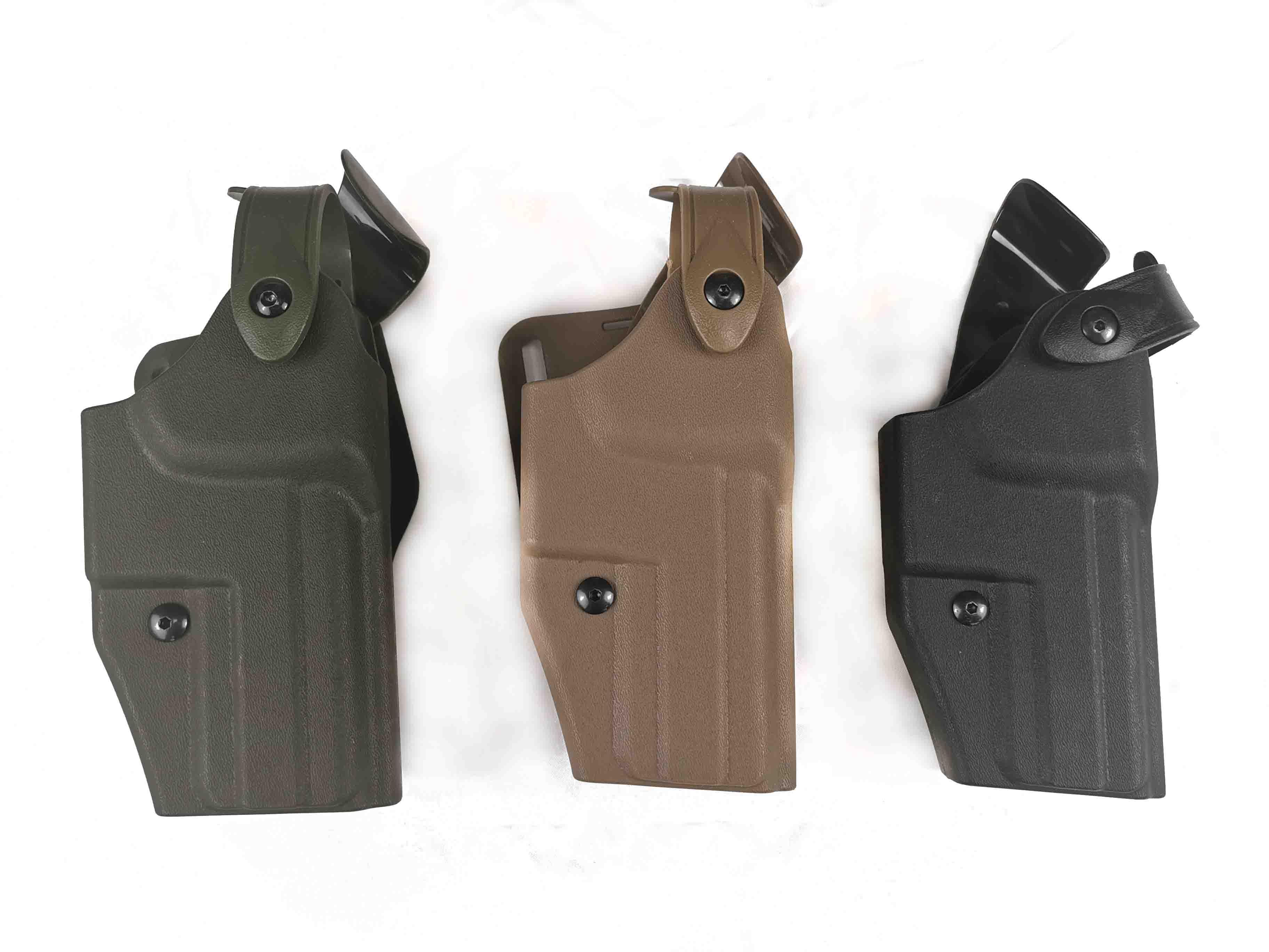 Táctico Safariland 6320 pistolera cinturón cintura para el ejército caza USP pistola militar arma de engranaje funda negra/marrón