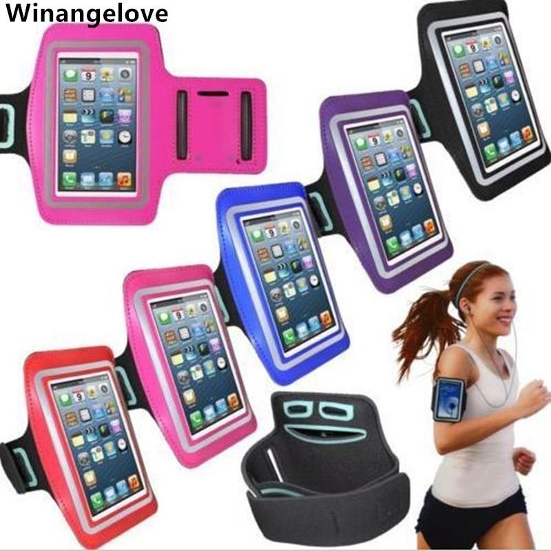 Winangelove 200 قطعة ل فون تعديل حزام الجري شارة الرياضة ل iPhone4 4S 5 5s في الهواء الطلق للماء الهاتف المحمول شارة