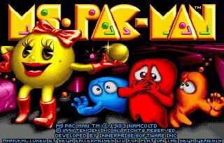 La Pac-man 16 bit tarjeta de juego MD para Sega Mega Drive...