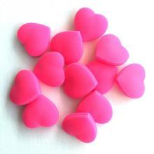 2 Colors choose 1PC Heart-Shaped Tennis Racket Damper Shock Absorber Tenis Racquet Vibration Dampeners