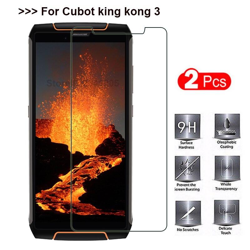 Cubot King Kong 3 IP68 de templado de vidrio de Cubot King Kong 3 Protector de pantalla película protectora de teléfono para Cubot King Kong 3 de vidrio