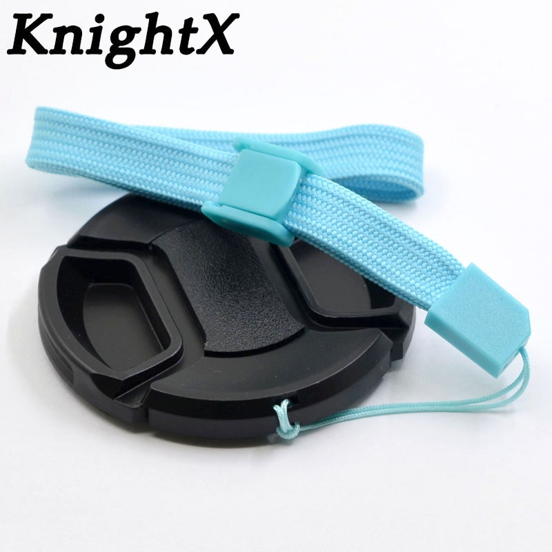 Cubierta de tapa de lente a presión para Sony Protector de lente...