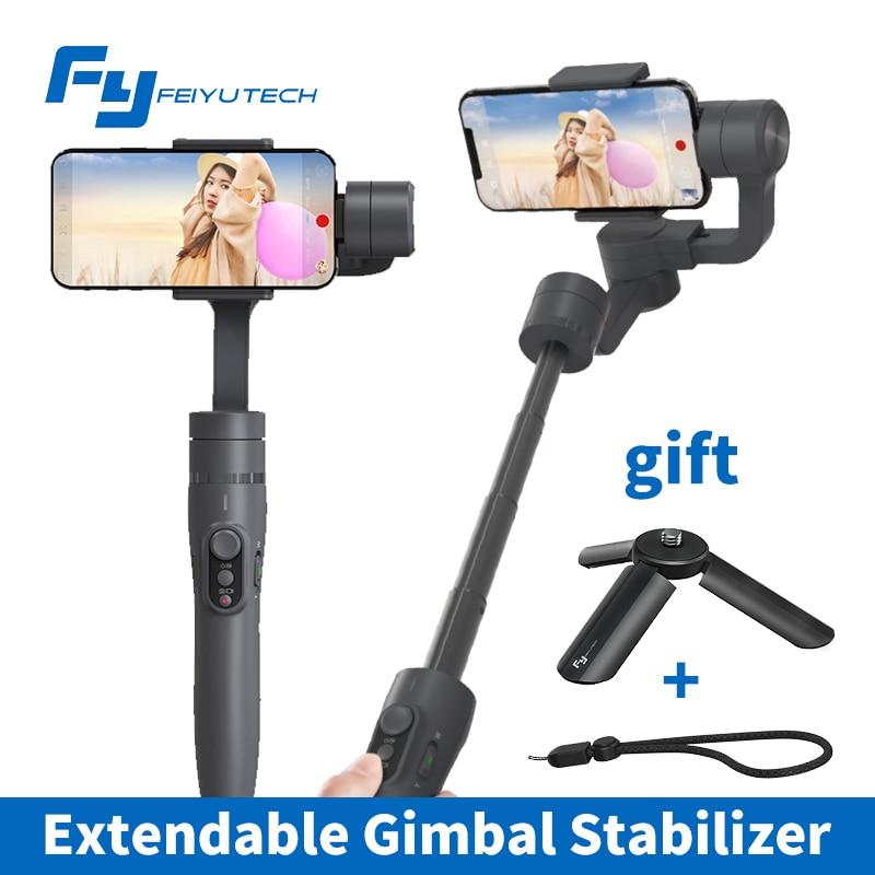 Feiyu tech Vimble 2 3-Axis Gimbal Smartphone Stabilizer Extendable Handheld PK DJI Osmo 2 Zhiyun Smooth Q 4