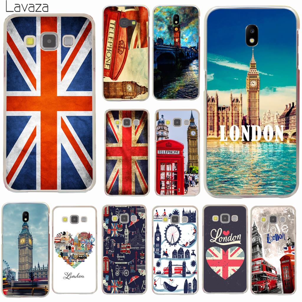 Lavaza Флаг Великобритании Лондон чехол для телефона Samsung Galaxy J8 J7 Duo J6 J5 J4 Plus 2018 2017 2016 J2 J3 EU US Prime 2015