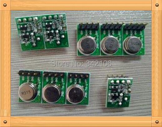 ¡Envío gratis! 10 Uds 433MHZ Módulo transmisor inalámbrico superheterodyne TX1 sensor de módulo