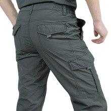 Pantalons décontractés à séchage rapide pour hommes pantalons de Style militaire de larmée dété pour hommes pantalons Cargo tactiques pour hommes pantalons imperméables légers pour hommes