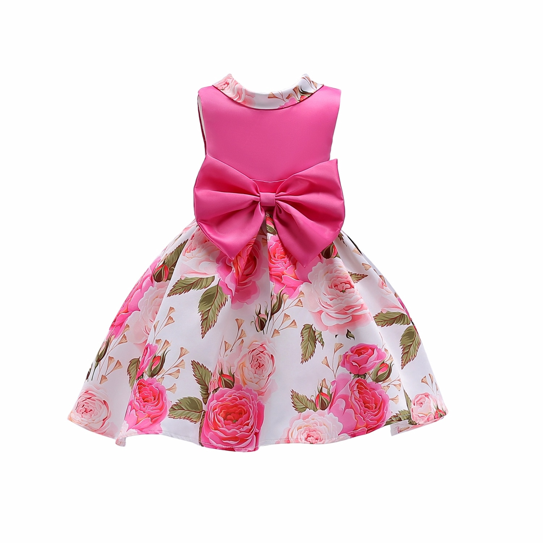 Verano vestido de la muchacha de flor de grado superior de 3-10 años bebé vestidos de princesa para las niñas de fiesta de boda vestidos infantiles chico ropa de niñas