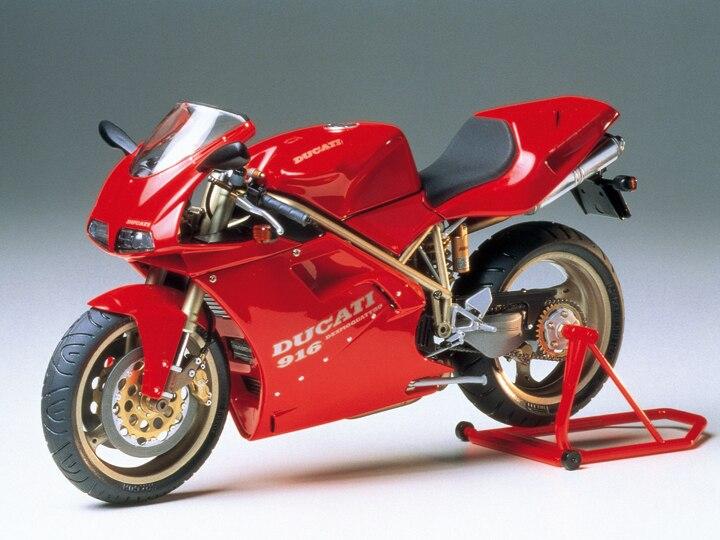 A Ducati 916 Motocicleta Modelo 112 Motocicleta Kit Modelo de Montagem