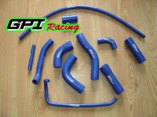 GPI silicone radiator hose FOR Yamaha YZF R6 R 6 06 07 2006 2007 blue