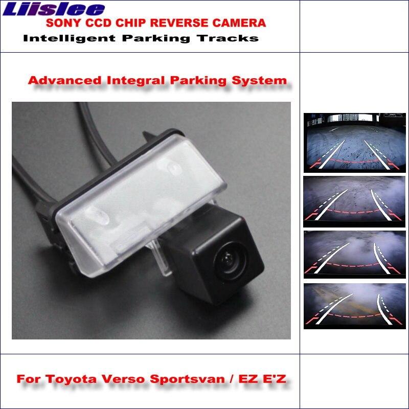 Cámara trasera de estacionamiento trasero para Toyota Verso Sportsvan EZ EZ 2009 ~ 2012 2013 2014, cámara de marcha atrás, guía dinámica para Tragectory