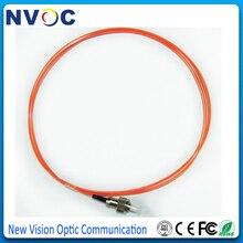 10Pcs/Lot,1.5Meter 0.9mm PVC Jacket MM 50/125 FC UPC Fiber Optic Pigtail,FC/UPC Multi Mode Simplex Fiber Pigtail/Jumpler Cable