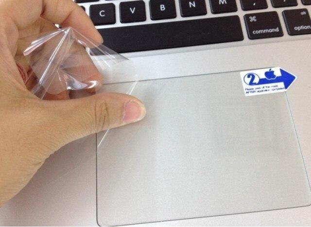 "Envío Gratis, película protectora mate transparente touchpad para Apple mac macbook air pro retina 11 ""12"" 13 ""15"" air13 pro13"