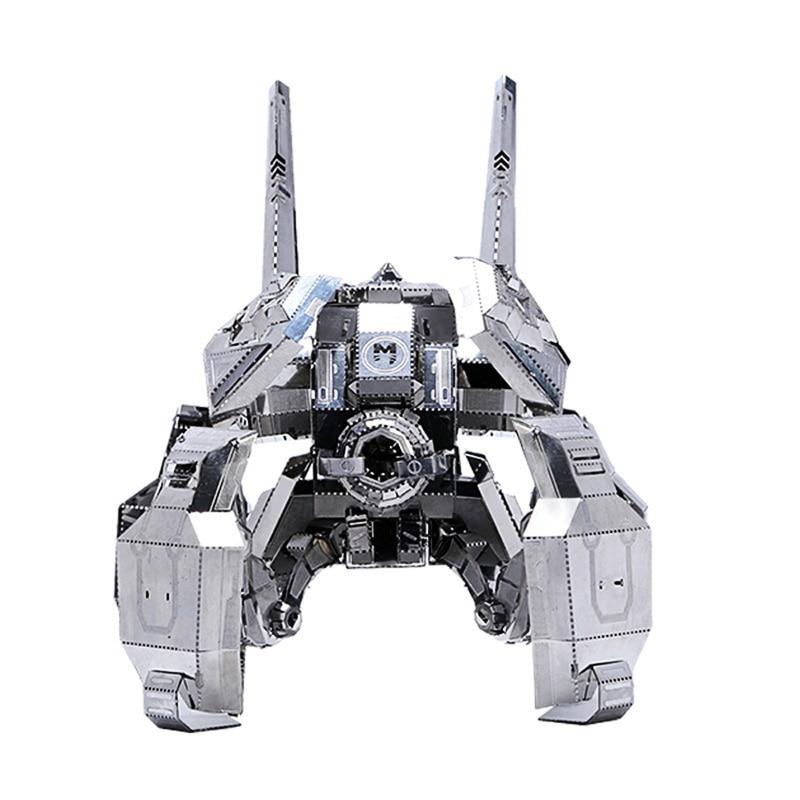MU Start Craft 2 Terran Spider Ghost Mines DIY 3D Metal Puzzle Assemble Model Kits Laser Cut Jigsaw Toys SGM-N01