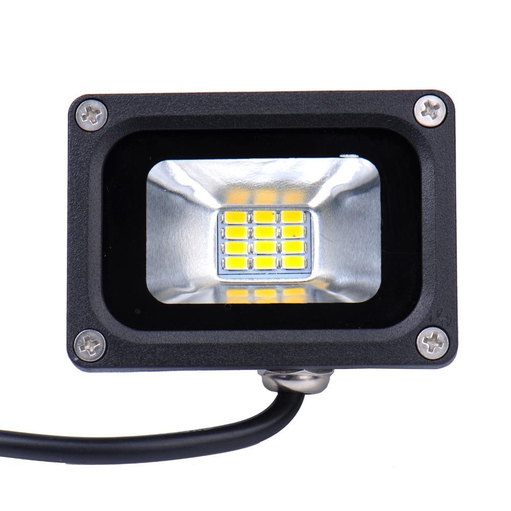 12 V 10 Watt LED Flutlicht leuchtet Wasserdicht IP65 Flutlicht Landschaft LED outdoor Garten beleuchtung Lampe Warm/Kalt weiß CE Rohs FCC