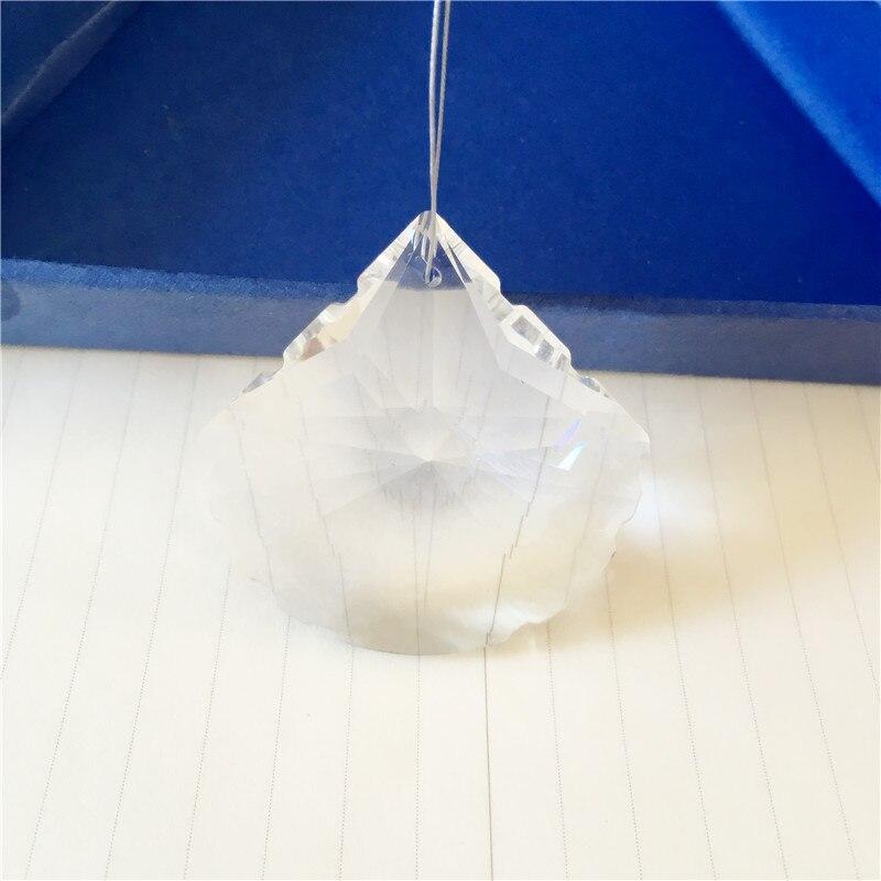 1152 Uds 50mm en forma de festón colgantes transparentes para lámpara de pared candelabro de cristal para decoración de hogar iluminación