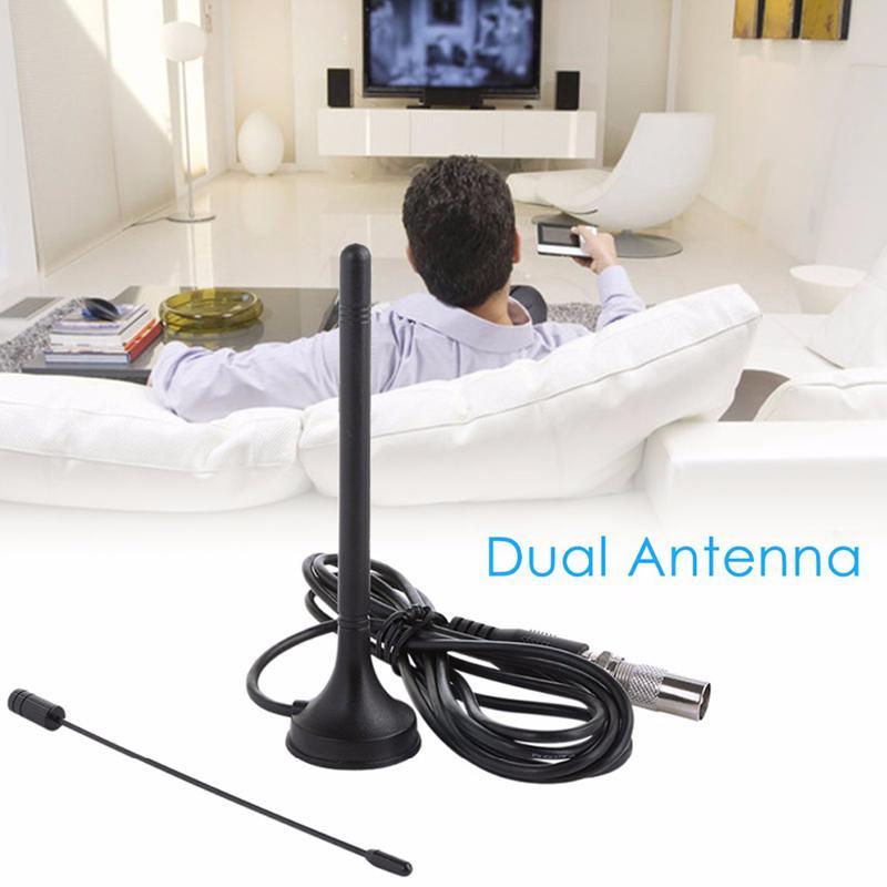 LumiParty HD TV Antena HDTV 25DB Digital Antena interior aérea de refuerzo para DVB-T Antena para TV caja HDTV Cable r15