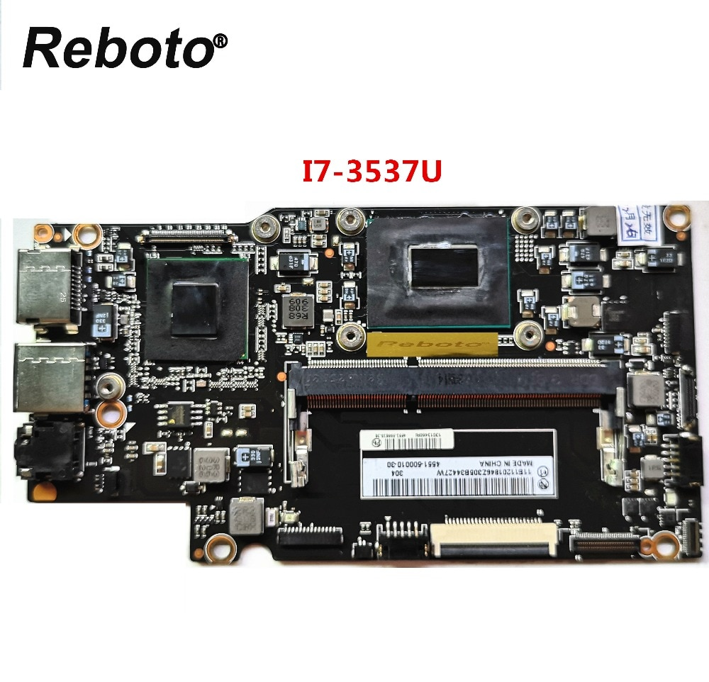 Reboto Original For Lenovo Yoga 13 Laptop Motherboard With i7-3537u 2GHz CPU Intel QS77 FRU 90002034 100% Tested Fast Ship