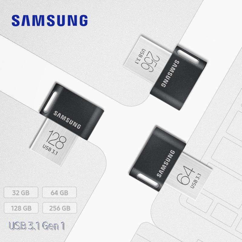 Samsung FIT-pendrive USB 3,1, 64gb, 32gb, hasta 200 MB/s, 128gb, 256gb, hasta...