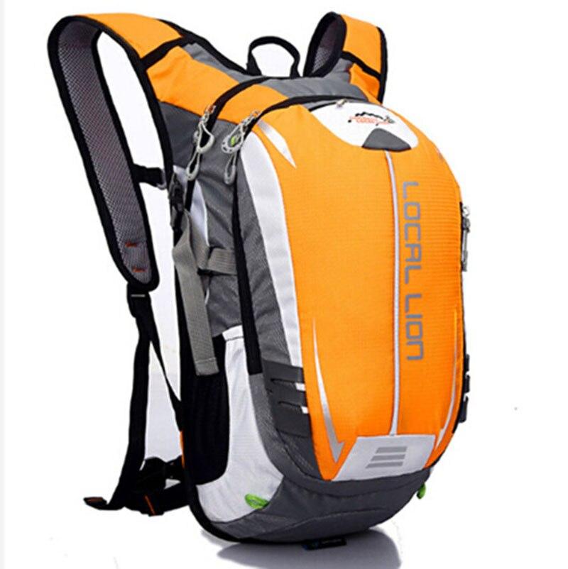Mochila de ciclismo LOCALLION, mochila para ciclismo, mochila para deportes al aire libre, mochila para correr, senderismo, Camping, viaje ultraligero de 18 l