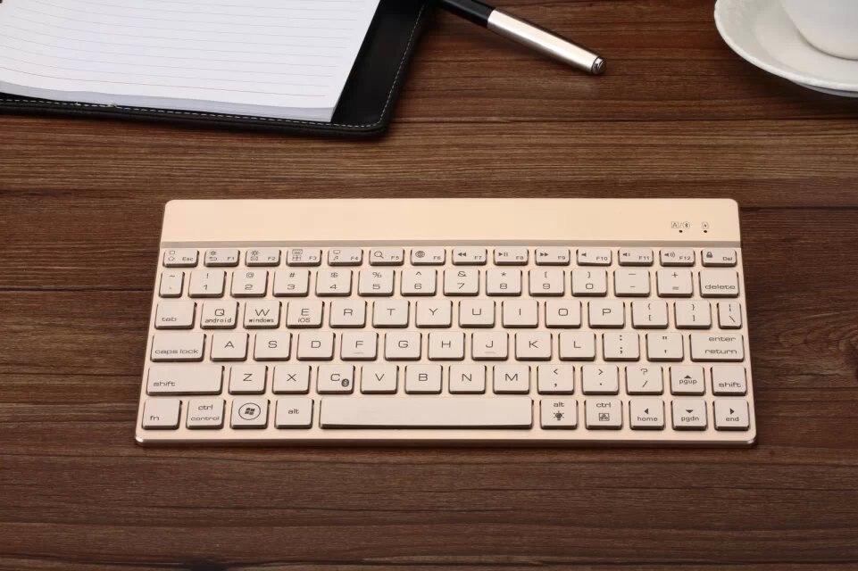 "Para Acer Iconia One 10 B3-A20 teclado Bluetooth DISEÑO DE Coustom teclado delgado para 10,1 ""Acer Iconia One 10 B3-A20 tableta Android"