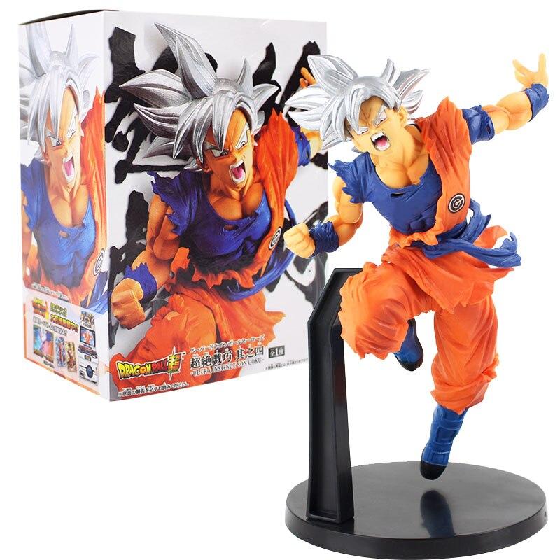 Anime Super pelota de dragón de los héroes Chouzetsu Gikou Vol.4 Ultra instinto hijo de Goku de PVC figura de acción de colección modelo de juguete