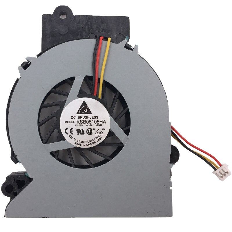 Nuevo Ventilador de refrigeración para portátil para FUJITSU Siemens Amilo Pro V2055 V2030 V2035 L1310G enfriador de CPU