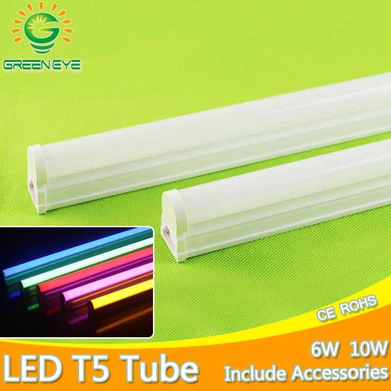 Aluminium Integrierte 10W 6W LED Rohr T5 Licht 220V 60cm 30cm T5 Rohr Lampe Warm kalt Weiß LED Leuchtstoffröhre licht T5 1Ft 2Ft