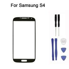 Pour Samsung Galaxy S4 I9500 GT-I9505 avant verre écran tactile avant verre écran tactile remplacement + outil