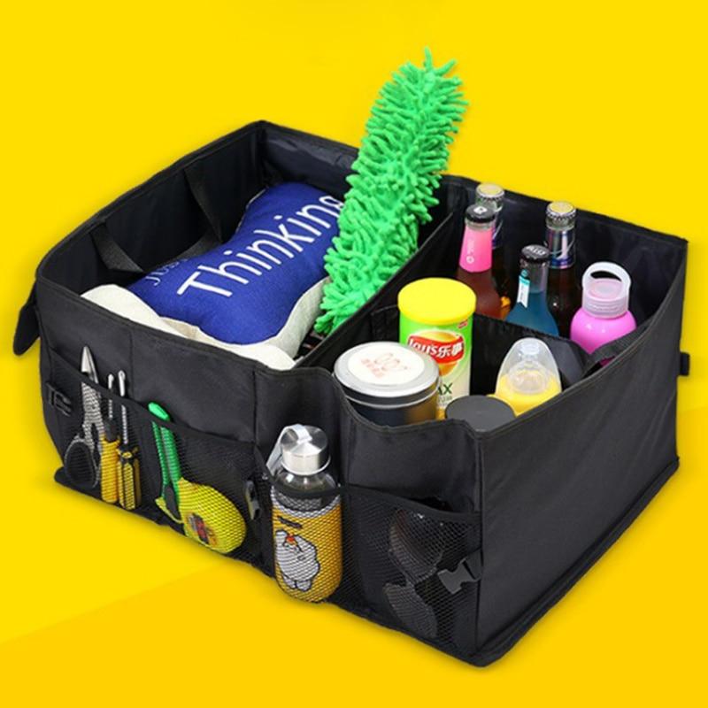 Carro arrumando tidying volta dobrável caixa de armazenamento multi-uso para alfa romeo 147 156 159 alfetta berlina brera mito giulia milano