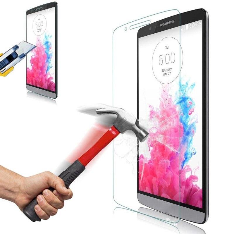Protector de pantalla de vidrio templado 9H para LG Optimus G Pro Lite Dual D685 Optimus G E975 E977 G Pro 2 F350 joy Leon Ray X190