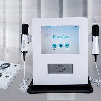 2019 profesional más nuevo 3 en 1 co2 burbuja hydra belleza oxigenación rf piel apretando la máquina facial para blanquear la piel