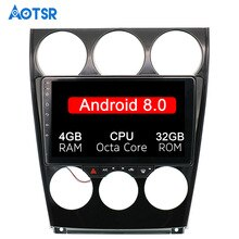 "9 ""Android 8,0 Auto GPS-Player Navi für Mazda6 Mazda 6 2002-2008 8 core cpu PX5 Stereo autoradio Multimedia 4G ROM band recorder"
