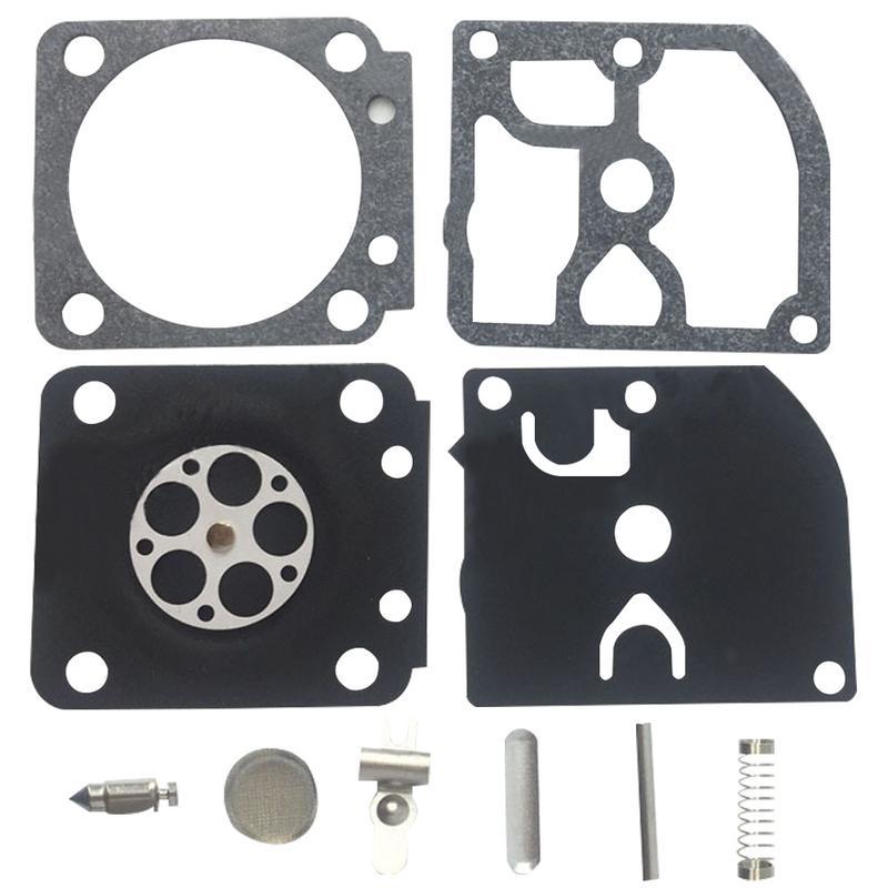 Kit de reparación de carburador de Rb-129 Kit de reparación de motosierra 1 Juego para Kit de reparación de carburador Walbro para STIHL MS 180 170 MS180MS170 018 017