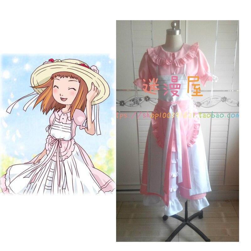 2016 Digimon Adventure Ruki Makino Rika Digimon Queen карнавальный костюм Makino Ruki платье для косплея