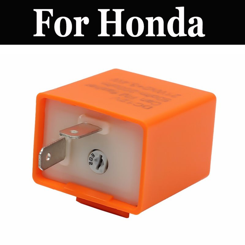 Relé intermitente ajustable electrónico Led de 12v para luz de señal de giro para Honda Gl1100 Gl400 Gl500 Glx 1500 1800 Ls 125r Mbx125