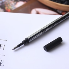 Duke original recarga 10 pçs/lote 0.5mm tinta preta plana rollerball caneta recargas 10.2cm de comprimento