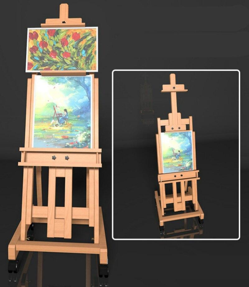 Multifunctional Easel Foldable Caballete De Pintura Oil Paint Cajoneras De Madera Artist Wood Easel for Painting Art Supplies enlarge